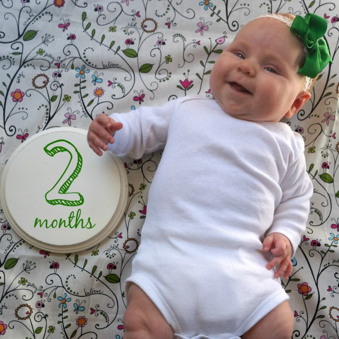 Ruthie Jeanne Two Months