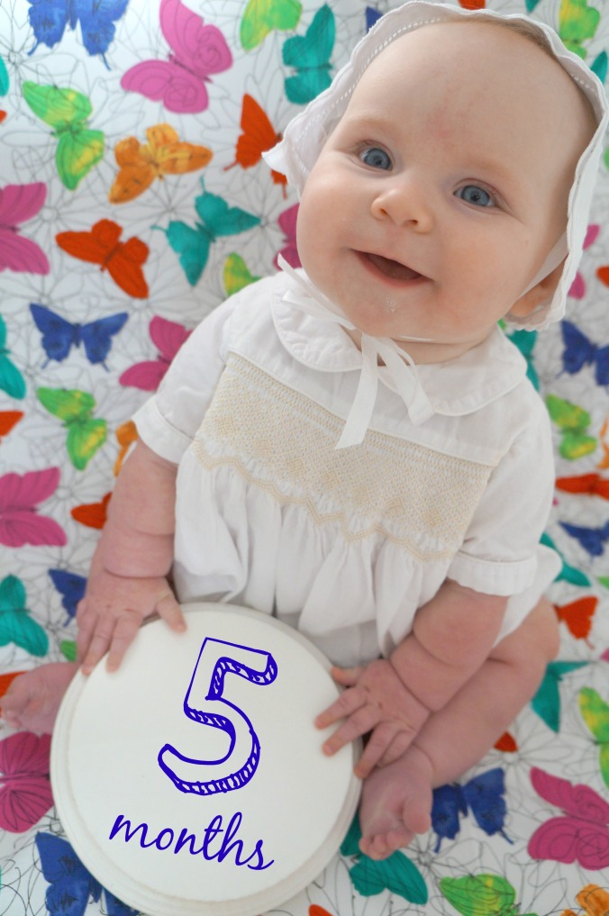 ruthie jeanne five months