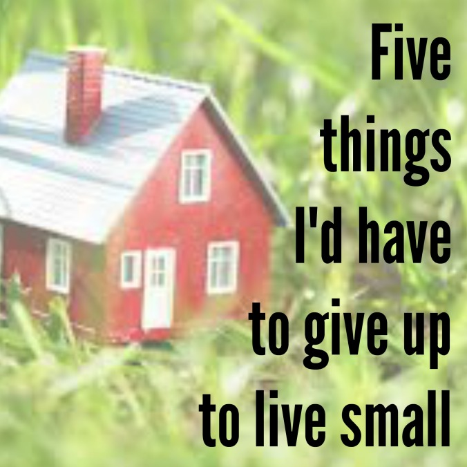 give up to live small